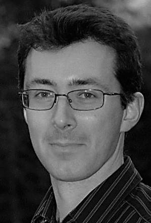 Black & white photo of Matt Castle